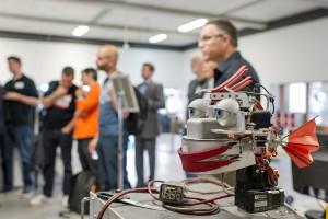 Global Tech Workshop Robotics Foto: Andreas Heddergott / Verwendung frei fuer die Berichterstattung ueber die TU Muenchen unter Nennung des Copyrights